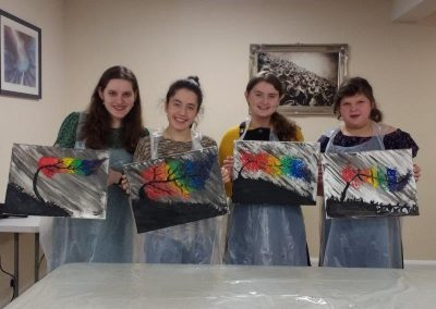 Cteen Girls – Paint Night